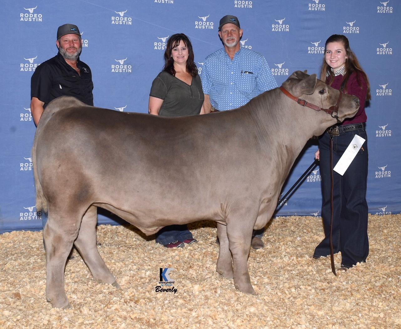 Winners Ryan Sweet Show Cattle